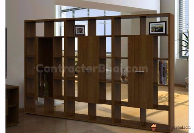 Contractorbhai-Wooden-Display-Unit-Room-Divider