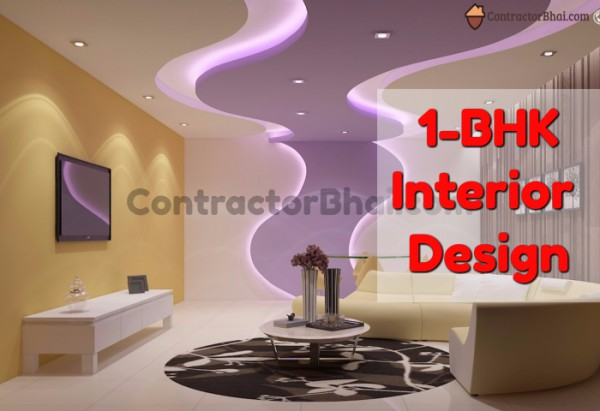 Bedroom archives contractorbhai for 1 bhk interior designs