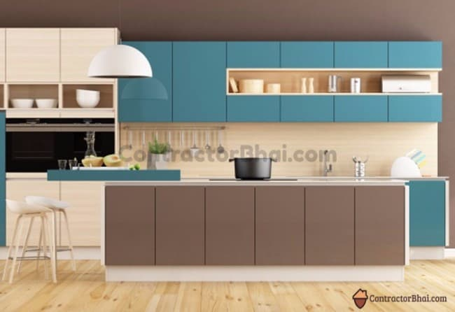 Kitchen Cabinets Colours In India Wow Blog