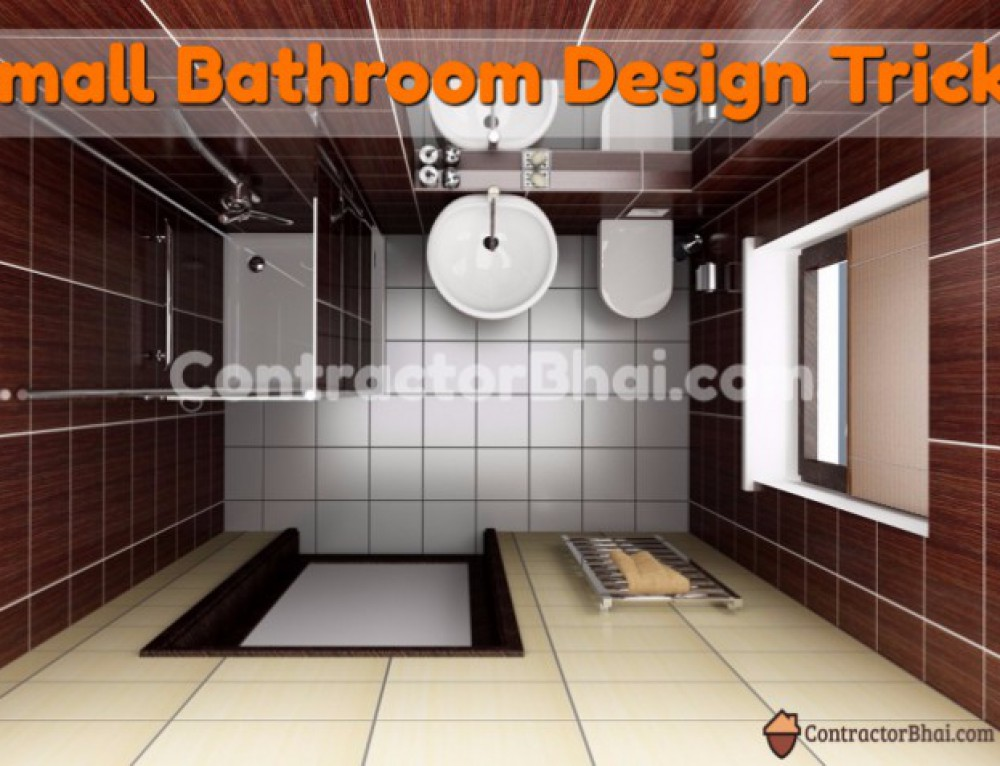 Interior design for 1 bhk flat contractorbhai - Small bathroom designs for indian homes ...