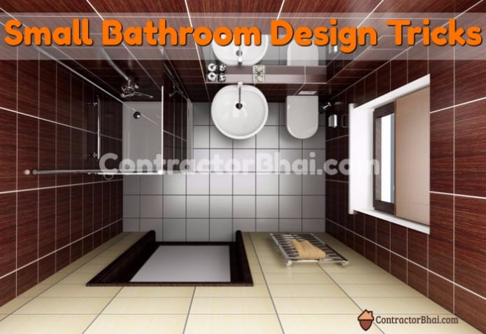 Fabulous Small Bathroom Ideas For Indian Bathrooms Contractorbhai - Small-bathroom-design