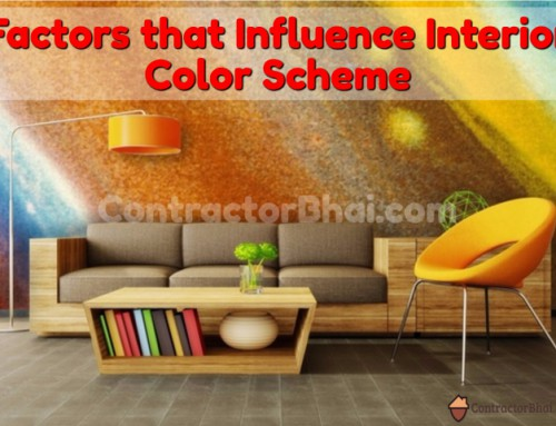 Factors that influence your Home Interior Colors Scheme