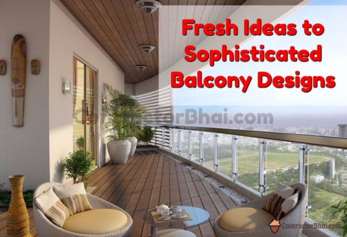 Fresh Ideas For Stylish Terrace Or Balcony