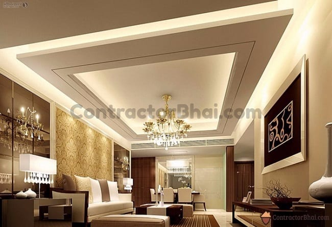Residential False Ceiling Design
