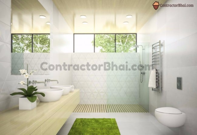 Fabulous Small Bathroom Ideas For Indian Bathrooms Contractorbhai