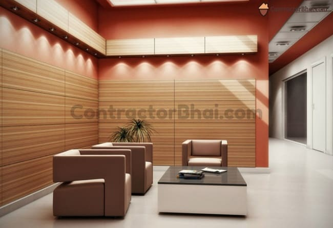 Contractorbhai-Indirect-LED-Light-Highlight-MDF-WOoden-Wall-Panels