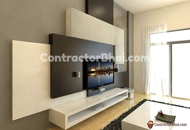 Contractorbhai-TV-Wall-Panels-to-Hide-Cables