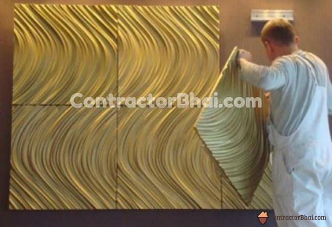 Contractorbhai-Wall-Panel-Installation