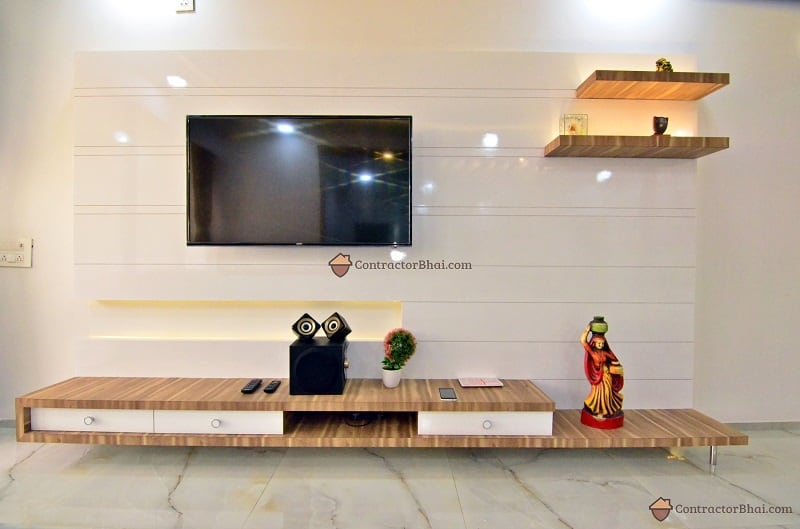 Modern Minimal Interior Design furniture Contractorbhai
