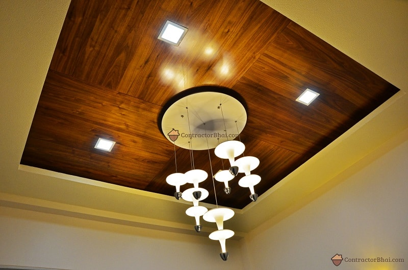 Modern Minimal Interior Design lights Contractorbhai