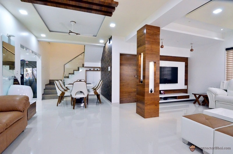 Captivating Modern Minimal Interior Design Livingroom Contractorbhai