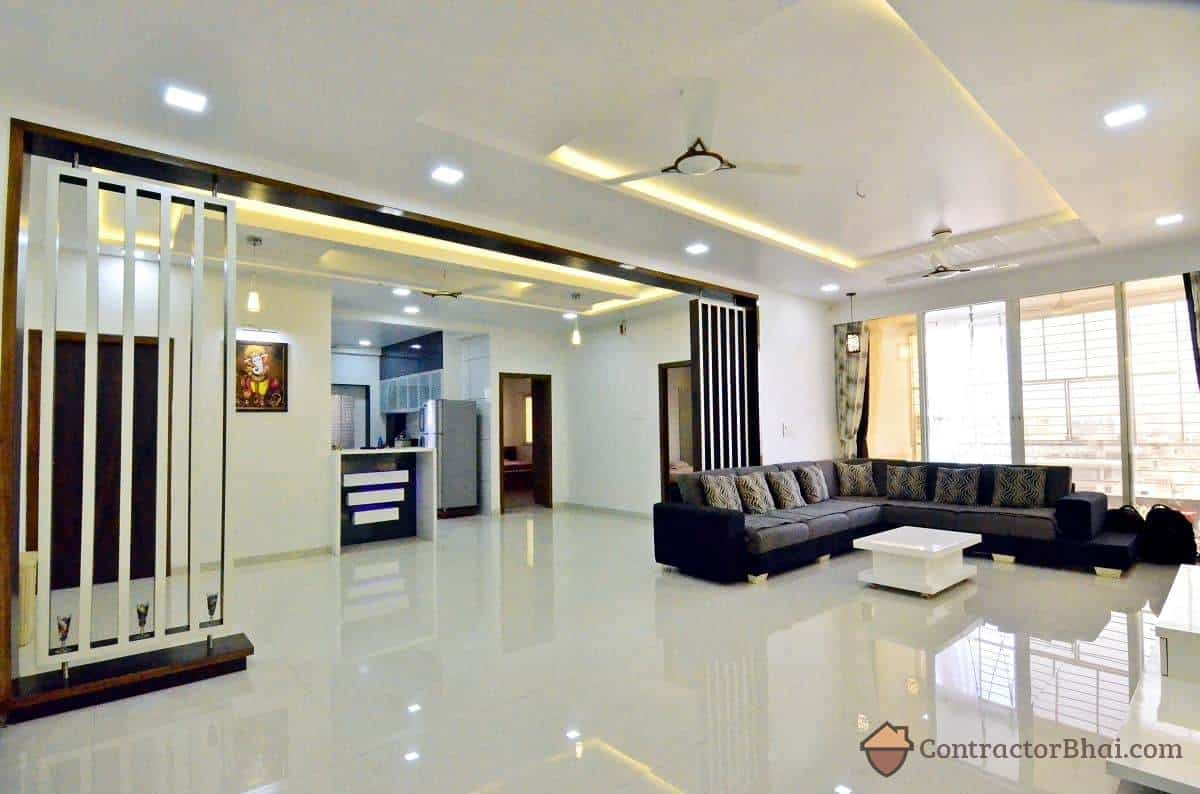 3d interior design service for indian homes contractorbhai House model interior design