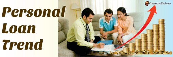 Personal Loan trend Contractorbhai