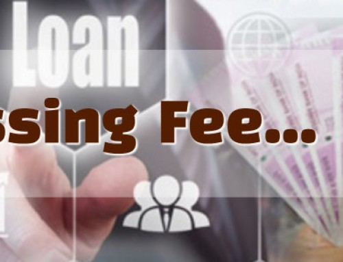 Processing Fees of Home Improvement Loans