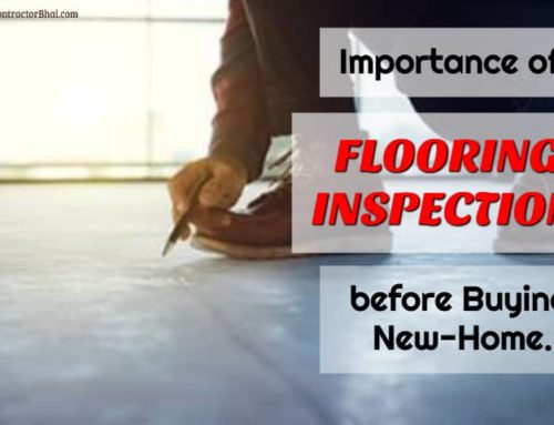 Home Inspection for New homes – Flooring
