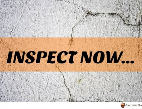 Wall Inspection before Buying New Homes