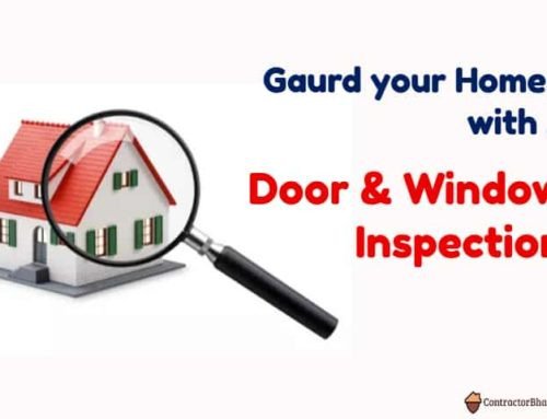 Why Door & Windows Inspection are Necessary!!!